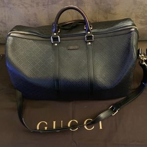 AUTHENTIC GUCCI Overnight Travel Bag